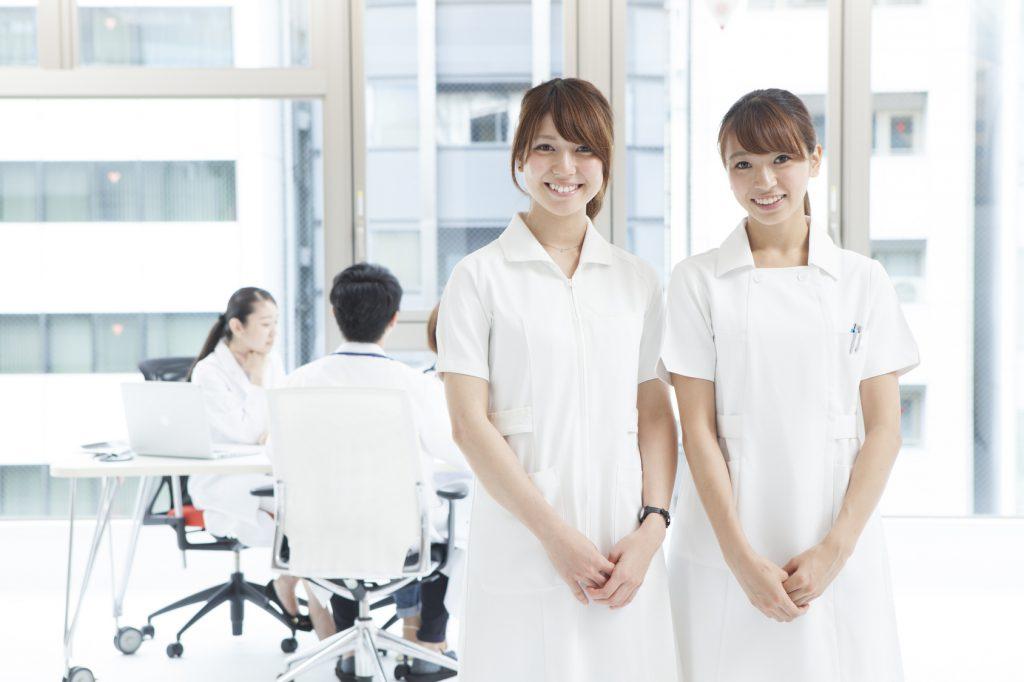Two nurses