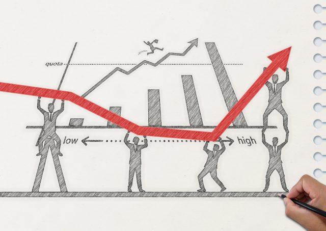 ノートに描いたビジネスプラン