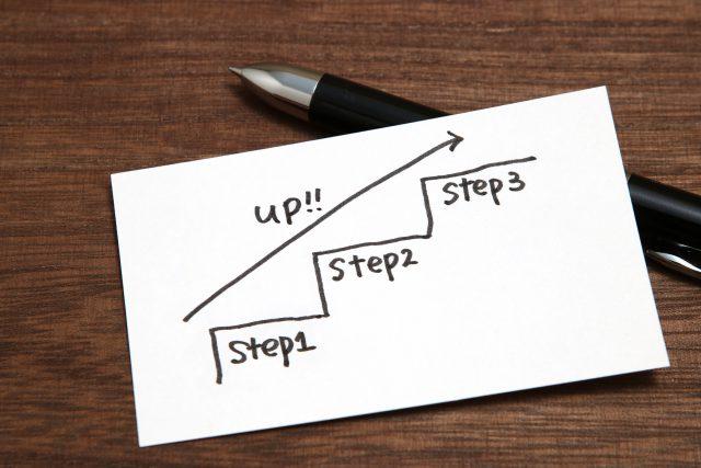 ステップアップ ビジネスイメージ