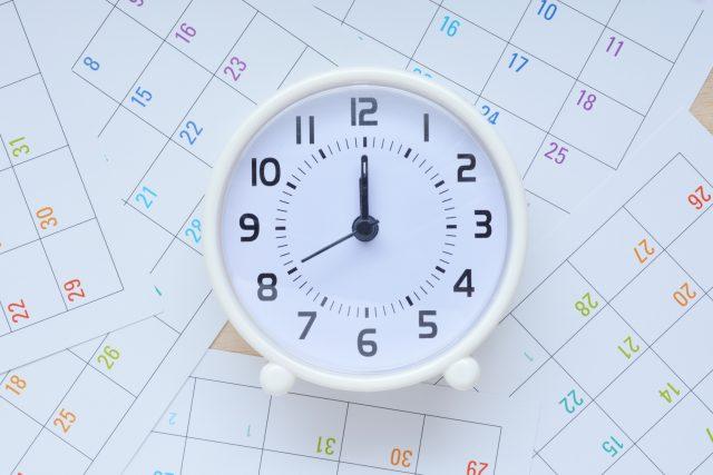 時計 カレンダー