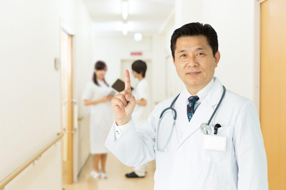 病院のスタッフ