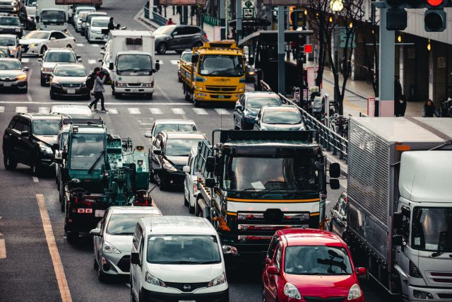 繁華街 交通イメージ