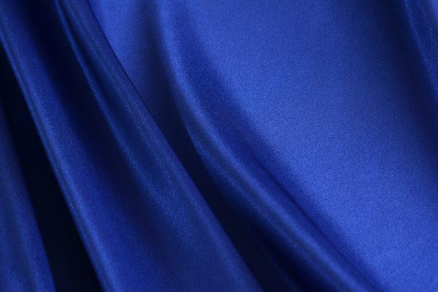 青色の布 背景素材