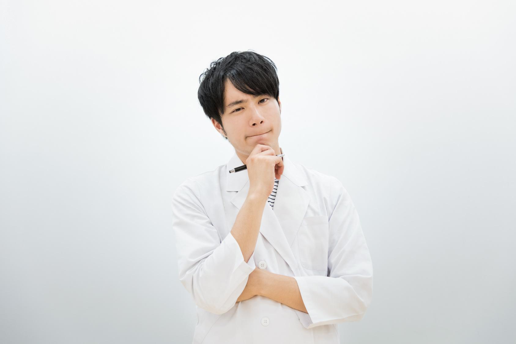 医者・研究者・学者のイメージ(男性)