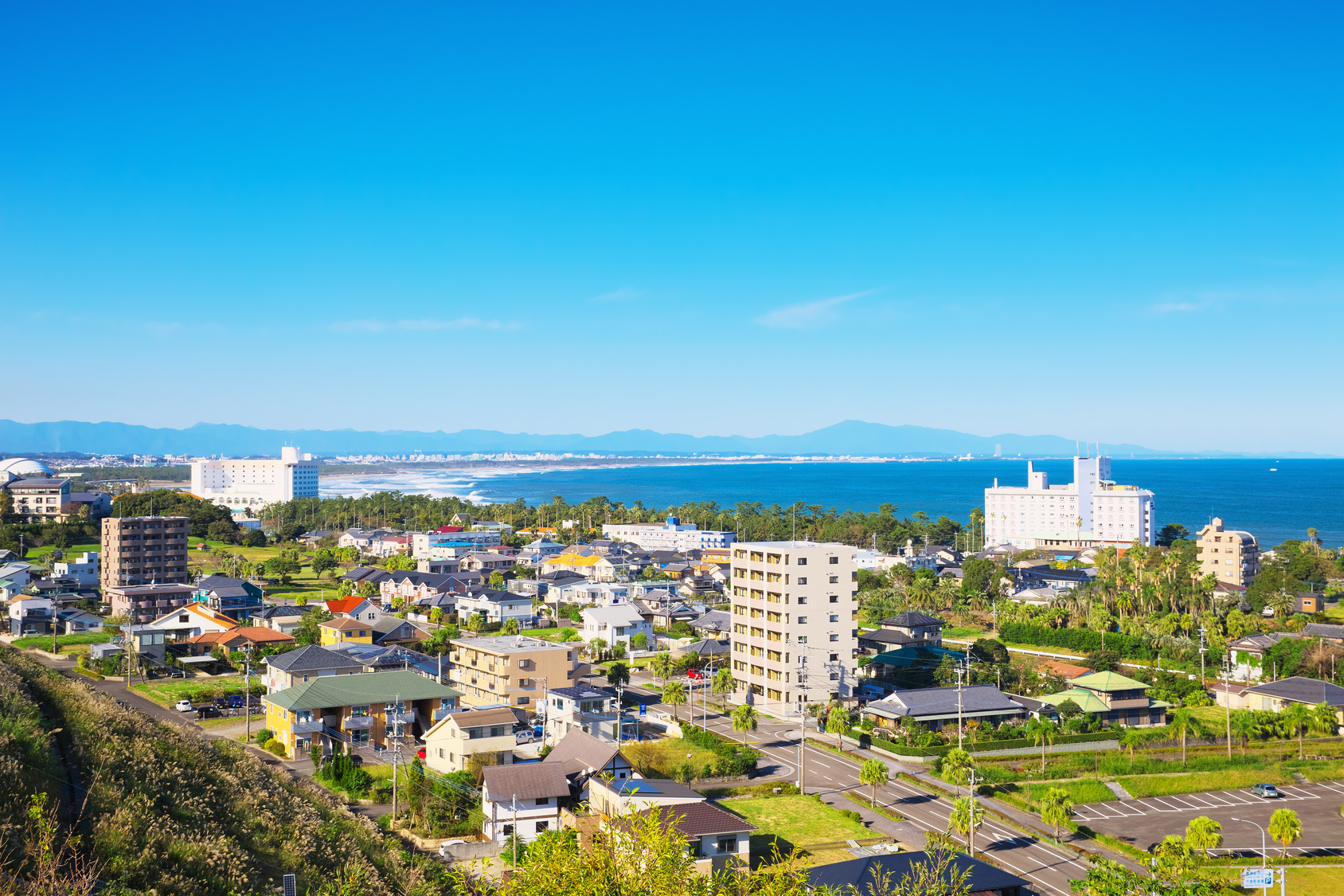 View of Aoshima area, Miyazaki City